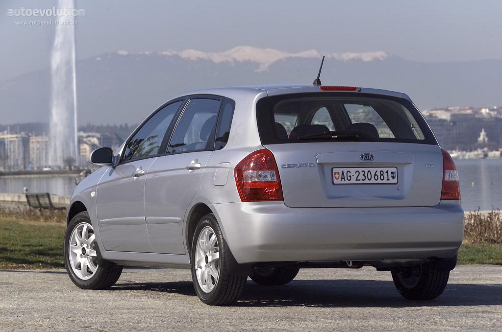 Amazing KIA Cerato / Spectra Hatchback (2004   2007) ...