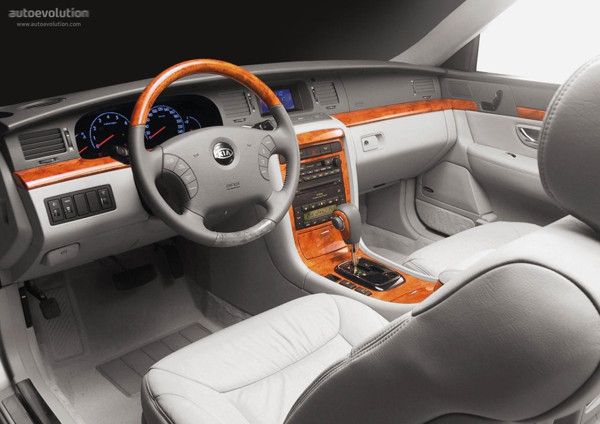 Opirus 2006 Interior Interior Kia Opirus/amanti