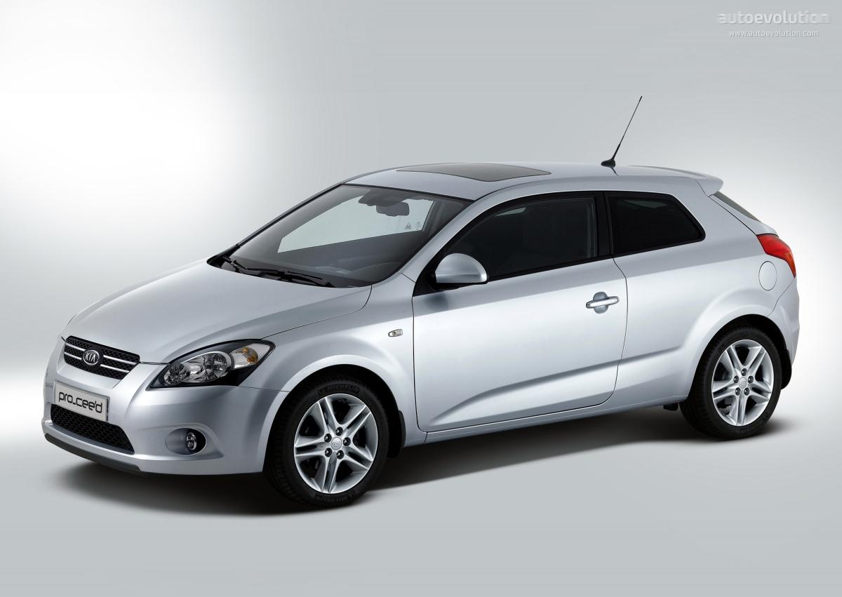 Kia Pro Cee D 2007 2008 2009 2010 2011 2012 2013
