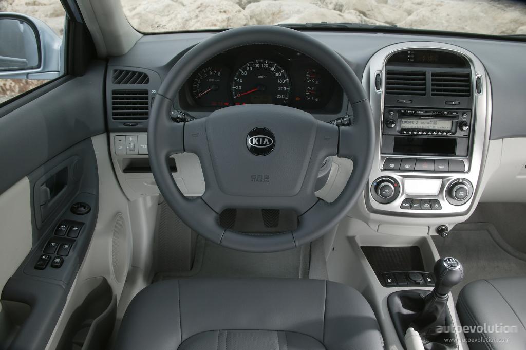 KIA Rio Sedan - 2005, 2006, 2007, 2008 - autoevolution