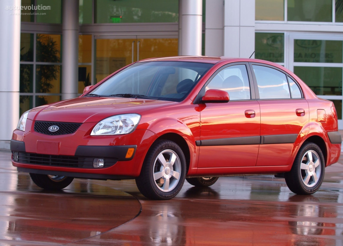 Kia Rio 5 >> KIA Rio Sedan - 2005, 2006, 2007, 2008 - autoevolution