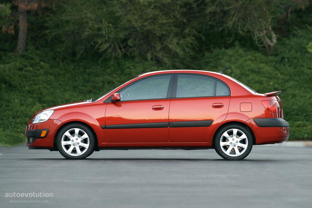 KIA Rio Sedan specs & photos - 2009, 2010, 2011 - autoevolution