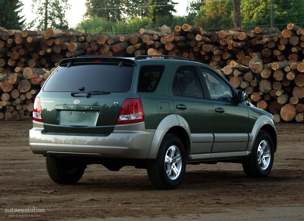 Kia Sorento 2002 2003 2004 2005 2006 Autoevolution