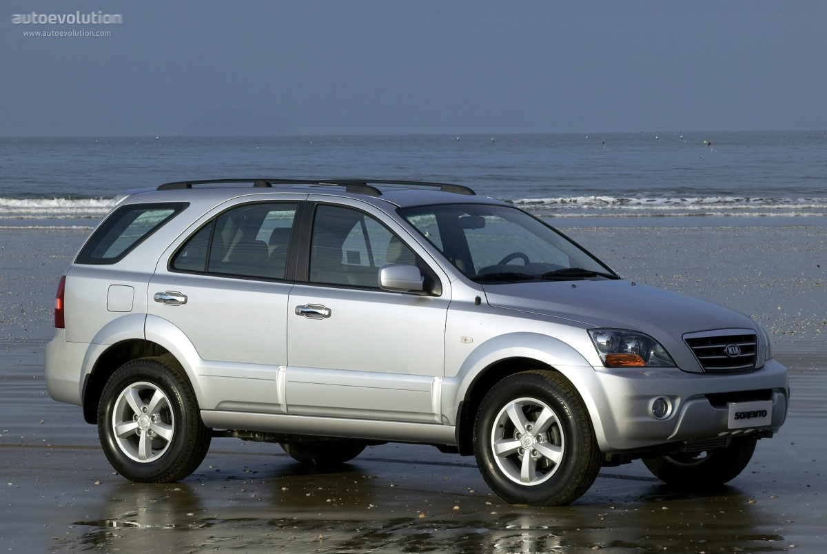 Kia Sorento 2006 on gmc v6 engine