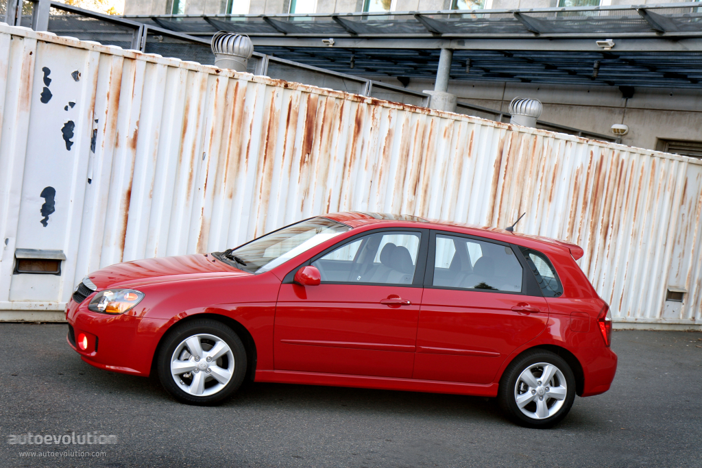 Kia cerato spectra hatchback specs 2007 2008 2009 autoevolution