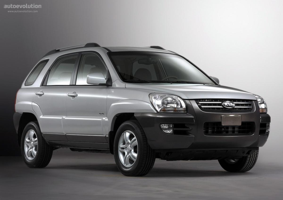 KIA Sportage - 2004, 2005, 2006, 2007 - autoevolution