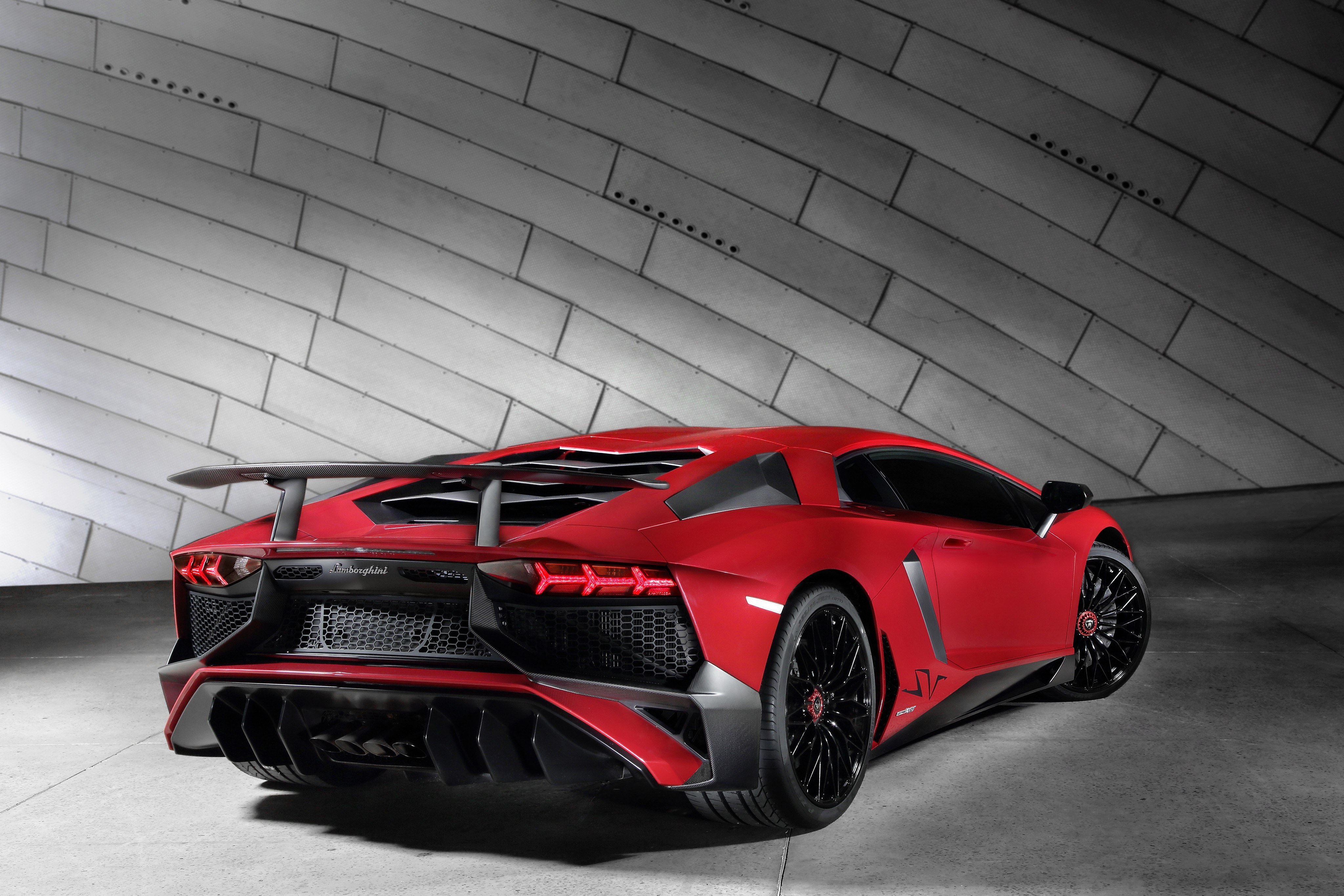 lamborghini aventador lp750 4 sv 2015 present - Lamborghini Aventador 2015 Black