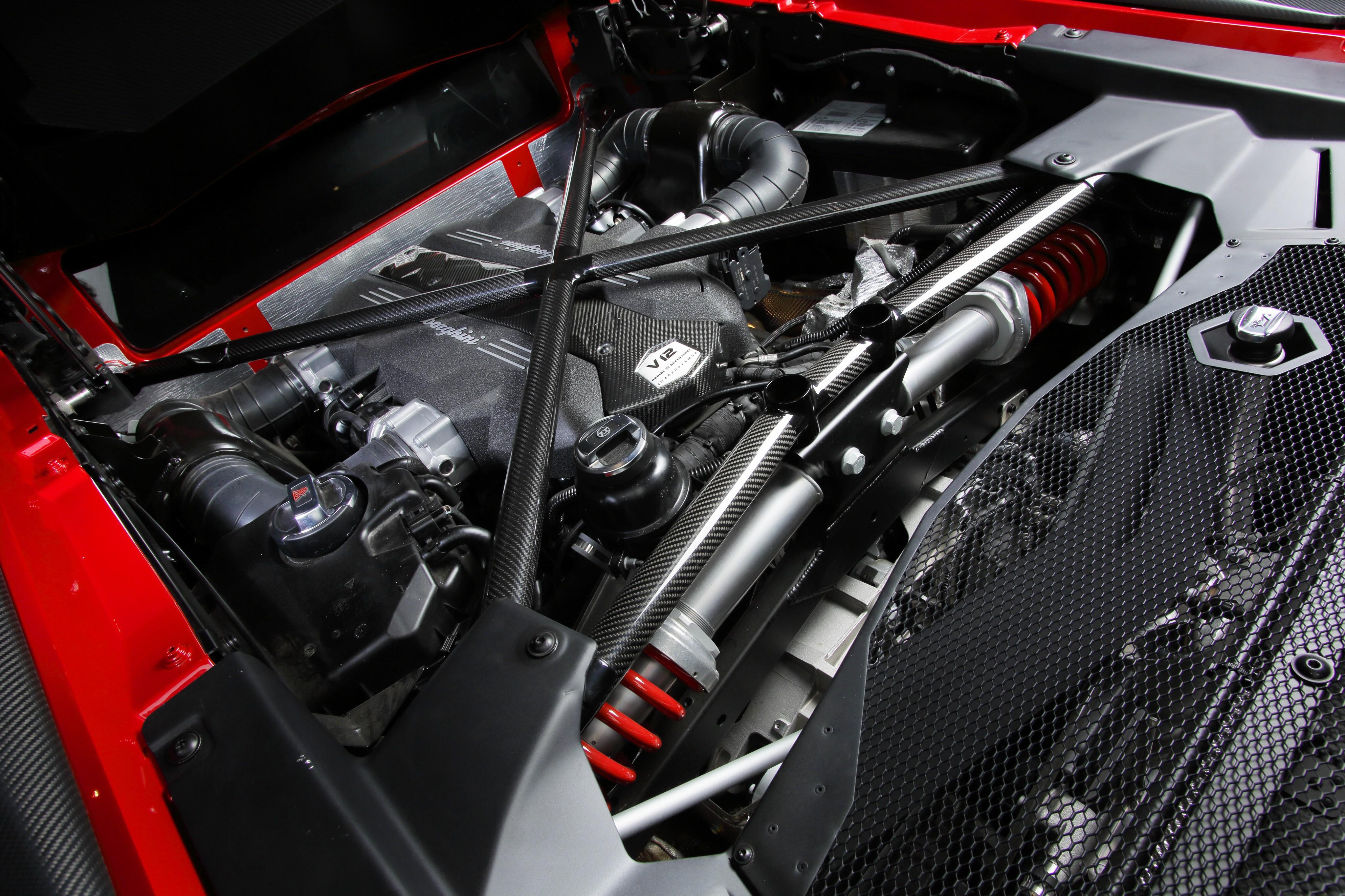 Lamborghini aventador sv specs