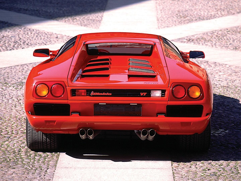 Lamborghini Diablo Vt Specs Photos 1993 1994 1995 1996 1997