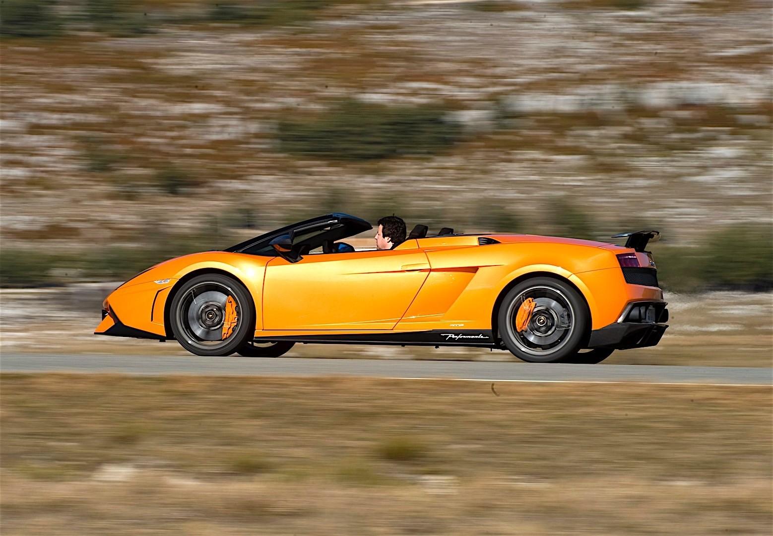 Lamborghini Gallardo Lp 570 4 Spyder Performante Specs Photos