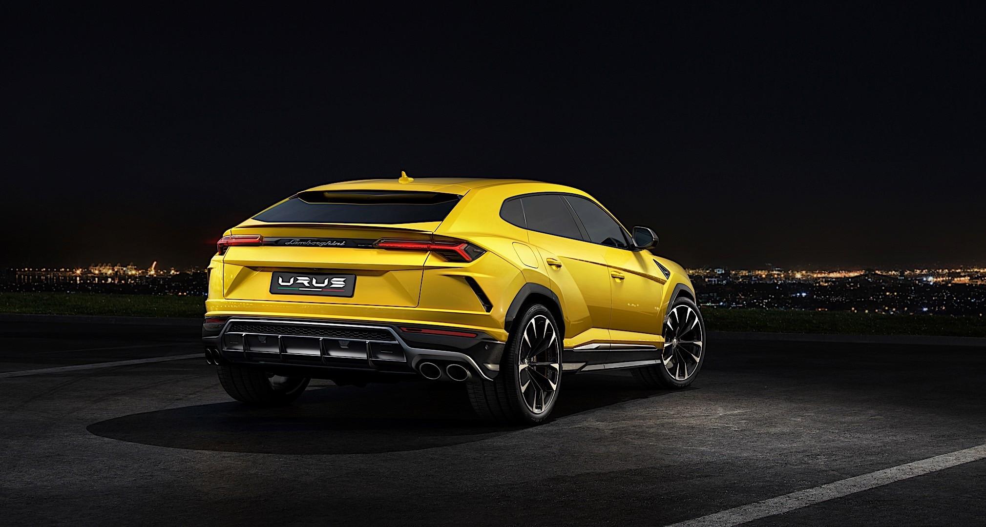 Lamborghini Urus Specs 2018 Autoevolution