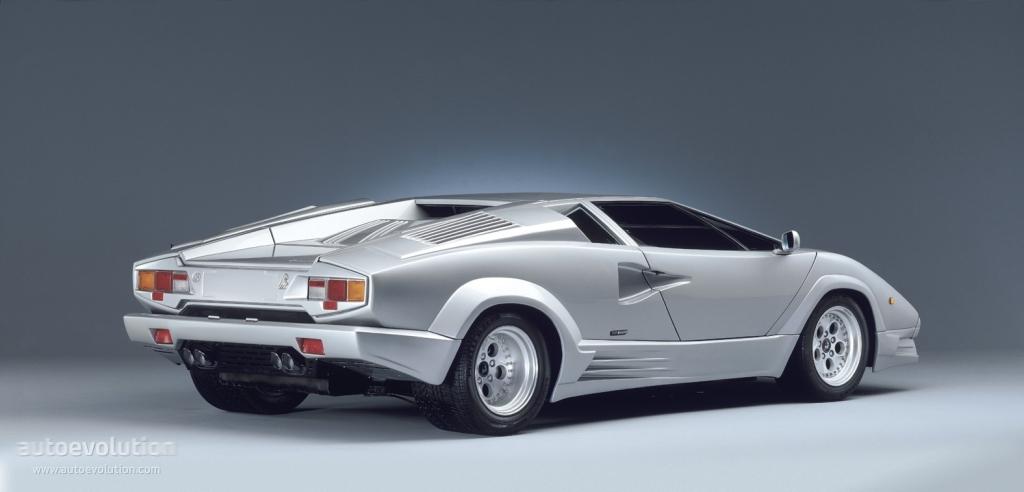Lamborghini Countach 25th Anniversary Specs Photos 1989 1990