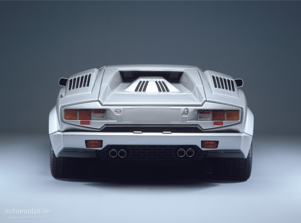 Lamborghini Countach 25th Anniversary 1989 1990