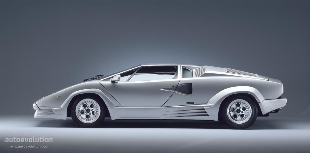 Lamborghini Countach 25th Anniversary 1989 1990