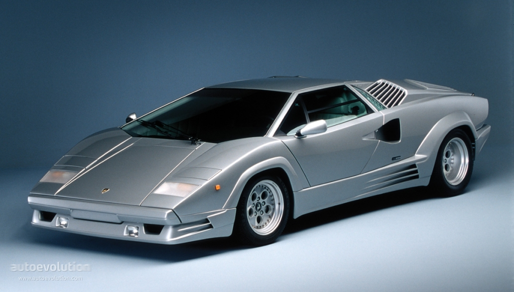 lamborghini countach 25th anniversary 1989 1990. Black Bedroom Furniture Sets. Home Design Ideas