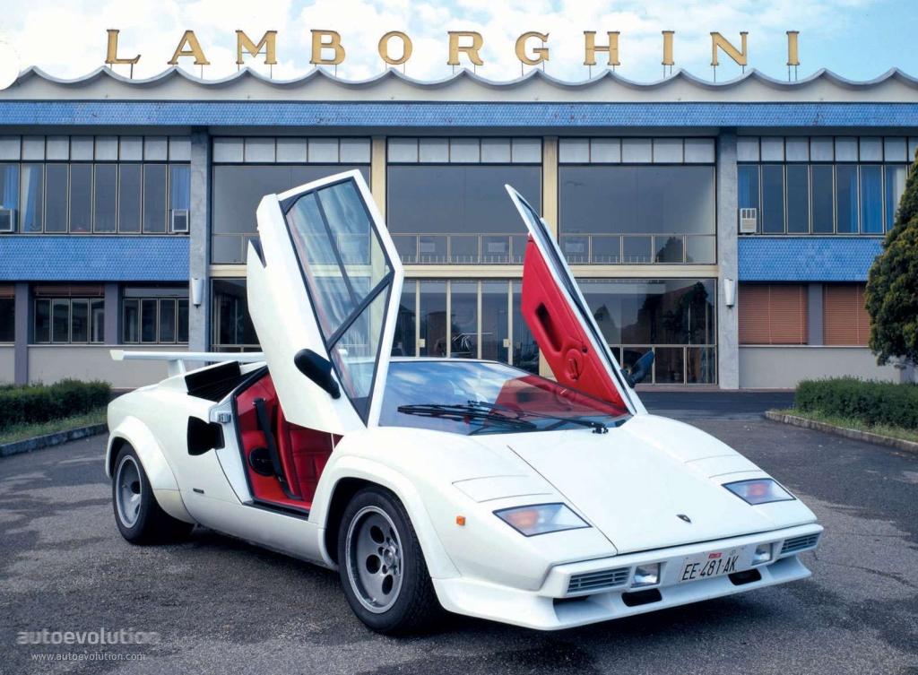 LAMBORGHINI Countach 5000 Quattro Valvole (1985   1989) ...