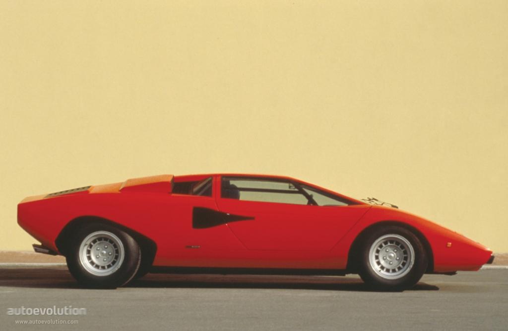 Lamborghini Countach Lp 400 1973 1974 1975 1976 1977