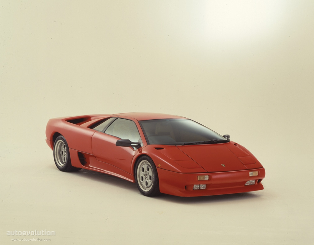 Lamborghini Diablo 1990 1991 1992 1993 1994 1995