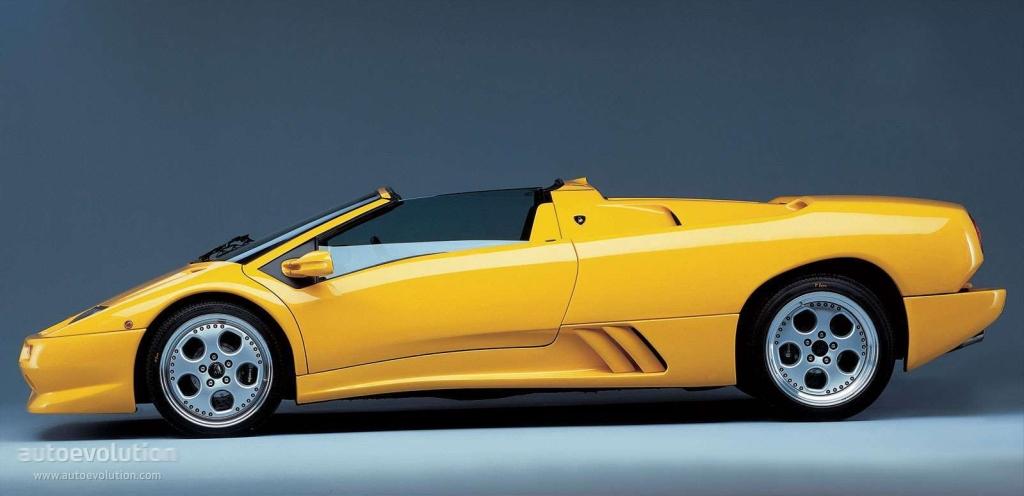 LAMBORGHINI Diablo Roadster - 1999, 2000 - autoevolution