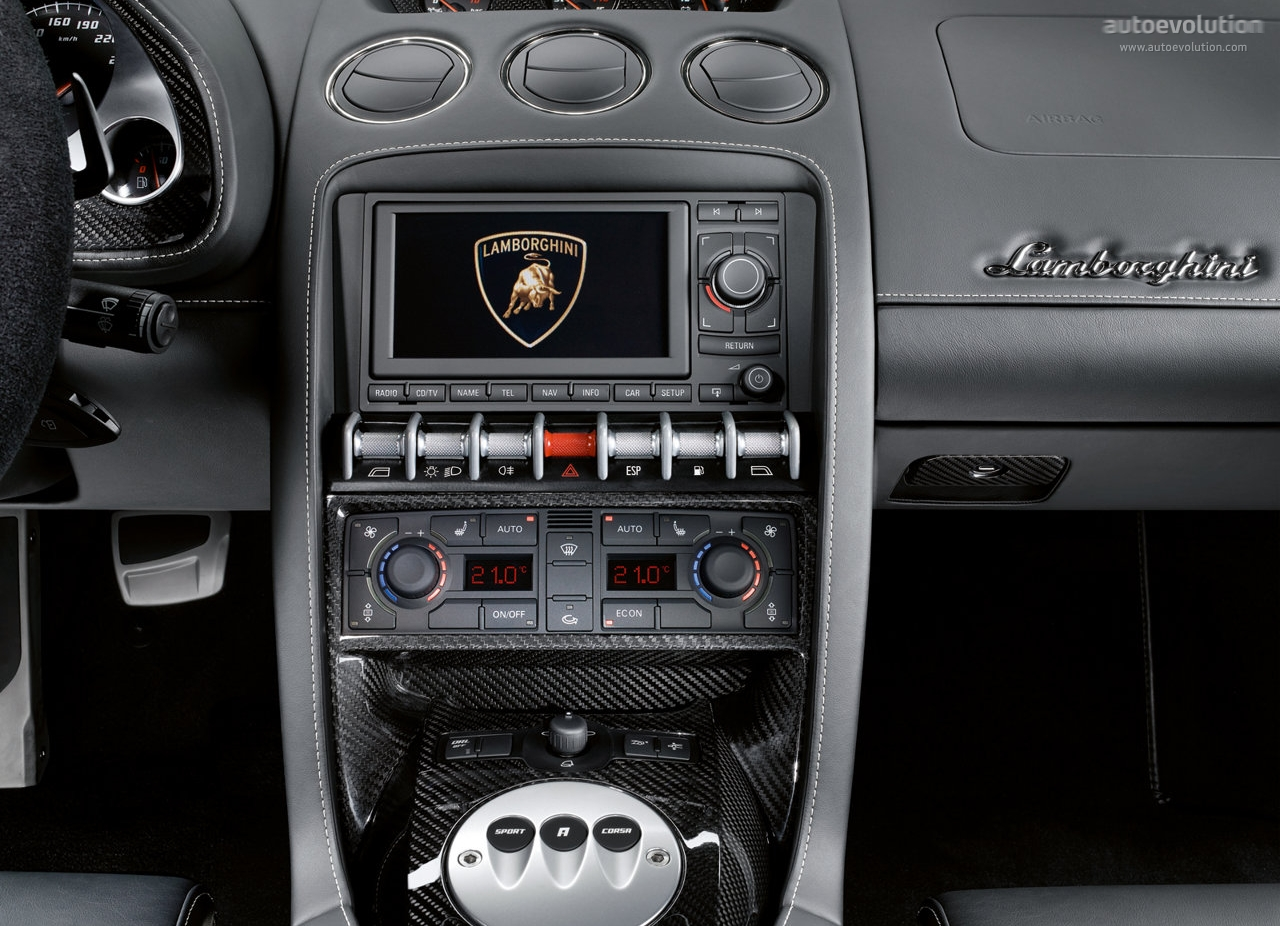 Black Interior 2007 Lamborghini Gallardo Spyder Photo 13640272 2009