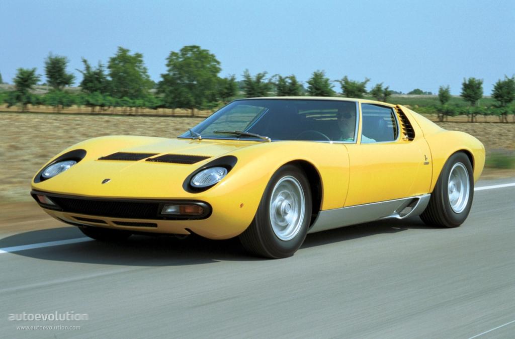 Lamborghini Miura Specs 1966 1967 1968 1969 1970