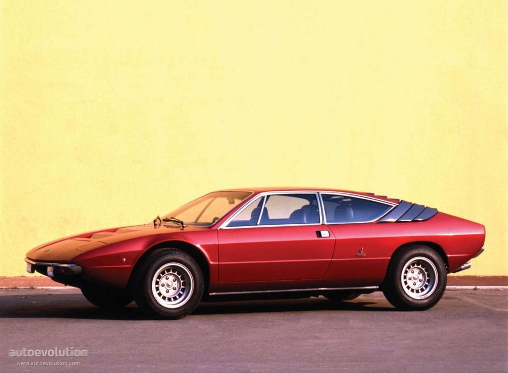 Lamborghini Urraco Specs 1972 1973 1974 1975 1976