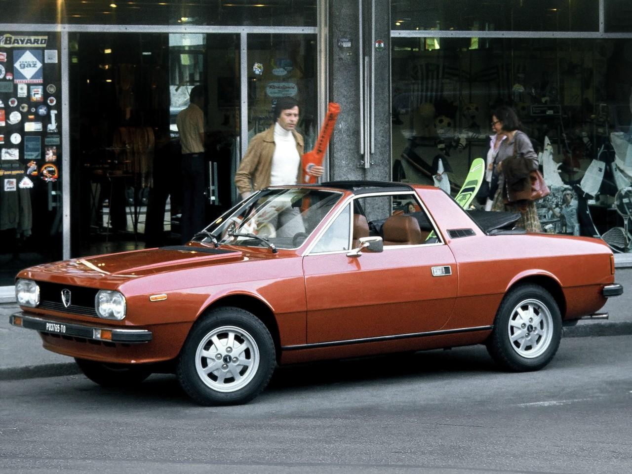 Lancia Beta Spider 1973 1974 1975 1976 1977 1978