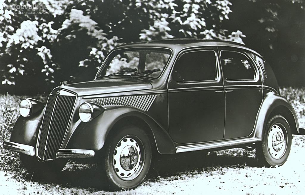 LANCIA Ardea specs - 1939, 1940, 1941, 1942, 1943, 1944, 1945, 1946 ...