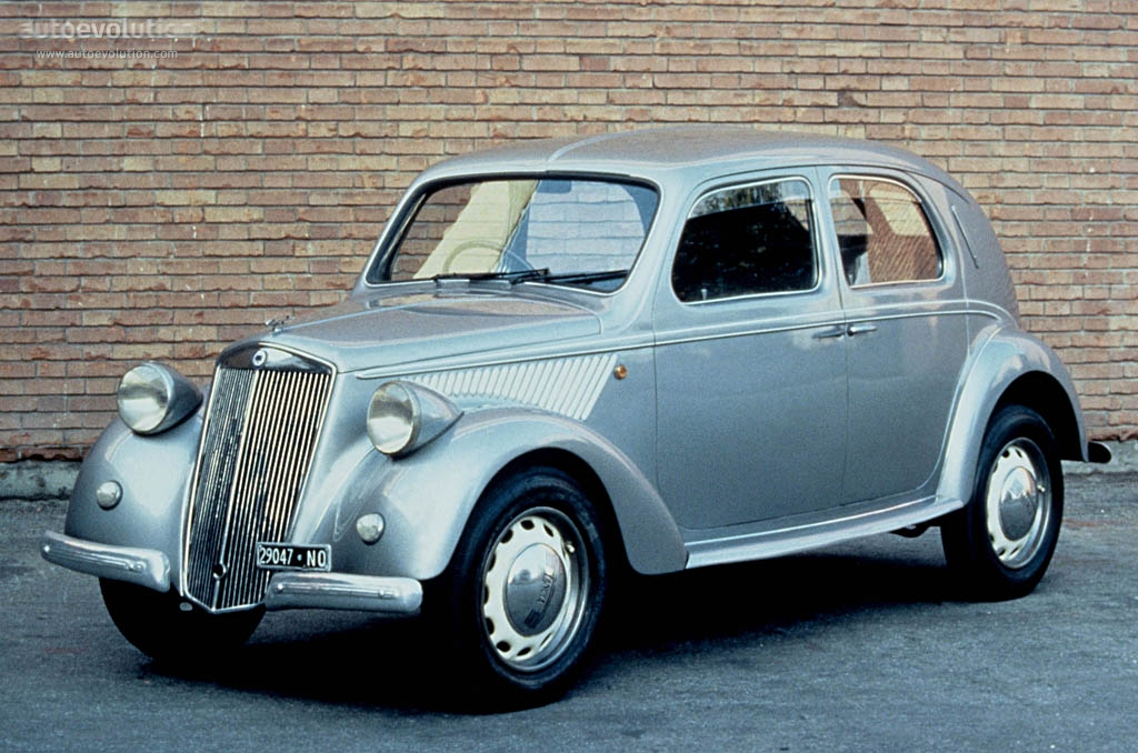 LANCIA Ardea specs - 1945, 1946, 1947, 1948, 1949, 1950, 1951, 1952 ...