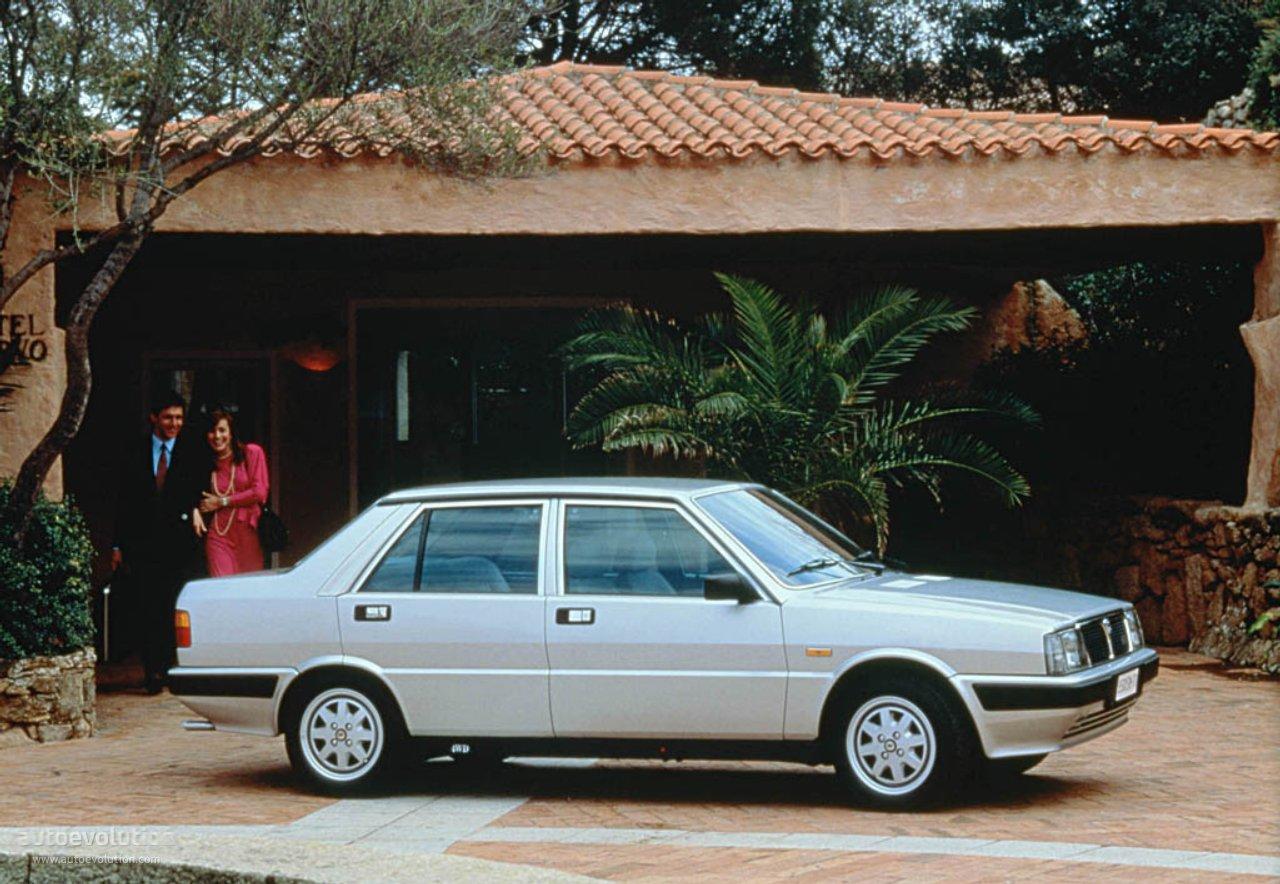 Lancia Prisma Specs 1983 1984 1985 1986 1987 1988