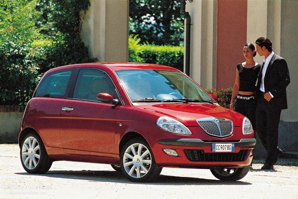 LANCIA Ypsilon - 2003, 2004, 2005, 2006 - autoevolution