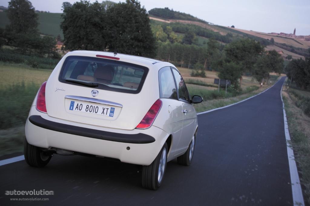 LANCIA Ypsilon specs - 2003, 2004, 2005, 2006 - autoevolution