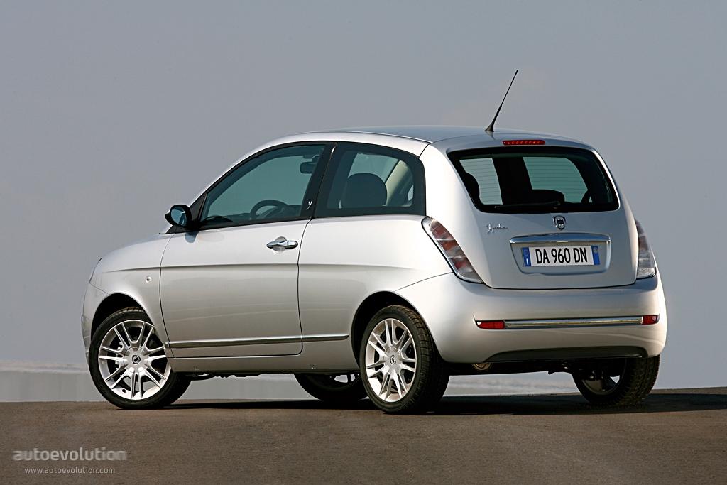 Lancia Ypsilon 2006 2007 2008 2009 2010 2011 Autoevolution