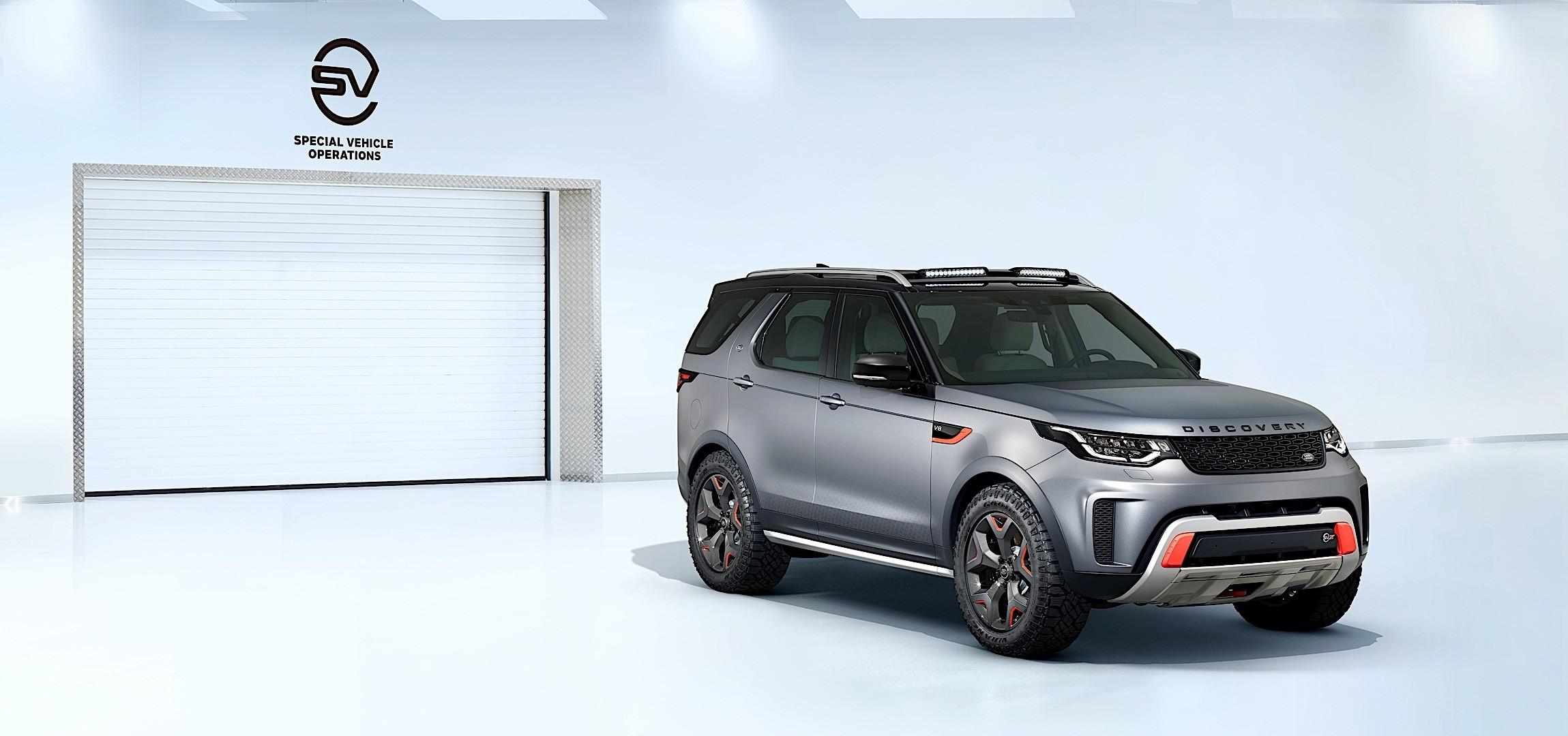 2019 Land Rover Discovery SVX: Design, Specs >> Land Rover Discovery Svx Specs Photos 2018 2019 Autoevolution