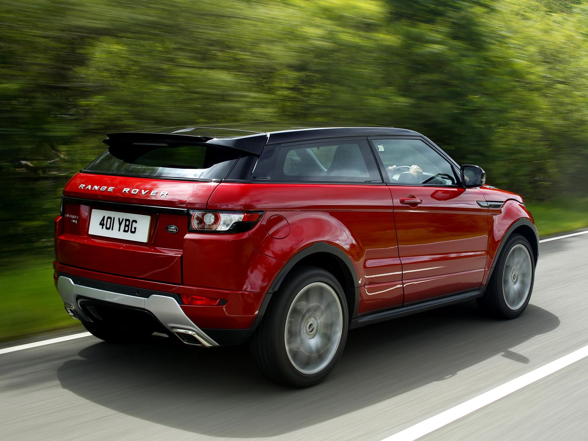 land rover range rover evoque coupe 2011 2012 2013 2014 2015 autoevolution. Black Bedroom Furniture Sets. Home Design Ideas