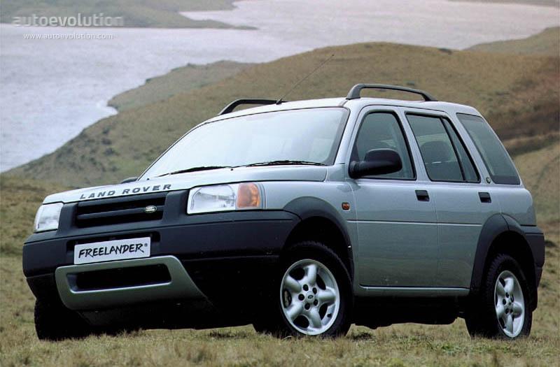 Land Rover Freelander Specs Amp Photos 1998 1999 2000