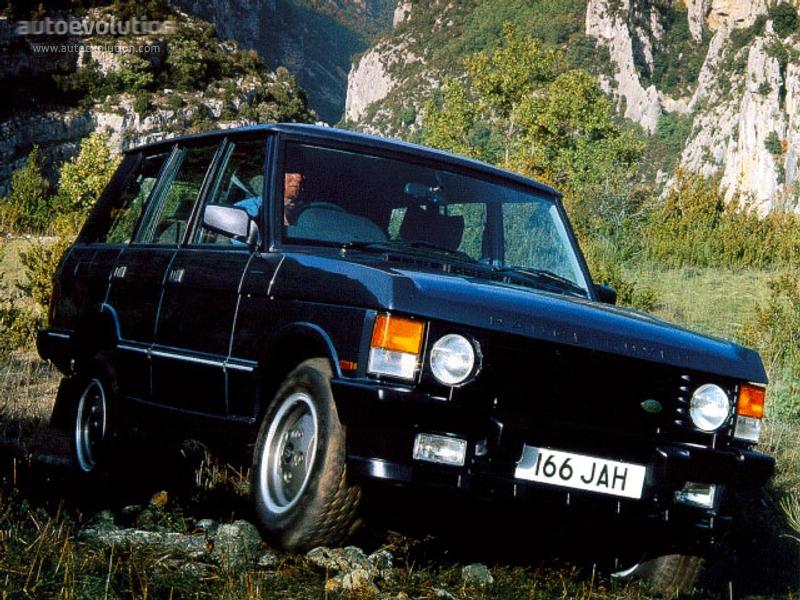LAND ROVER Range Rover specs - 1988, 1989, 1990, 1991, 1992, 1993, 1994 - autoevolution
