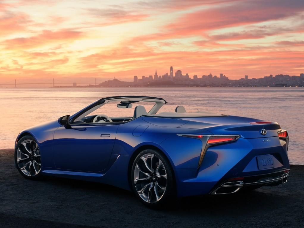 lexus lc 500 convertible specs  photos  2021  autoevolution