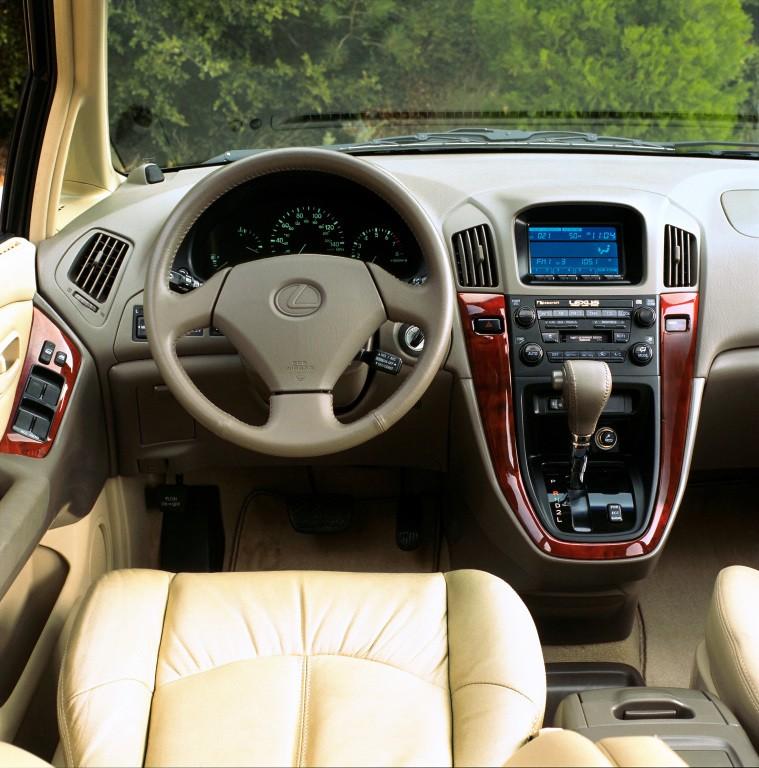 2002 Lexus 300 Rx: 1998, 1999, 2000, 2001, 2002
