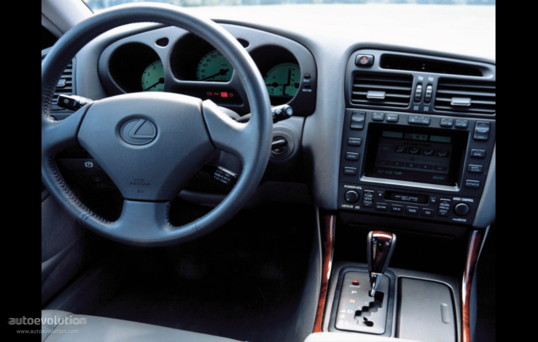 LEXUS GS specs & photos - 1997, 1998, 1999, 2000 - autoevolution