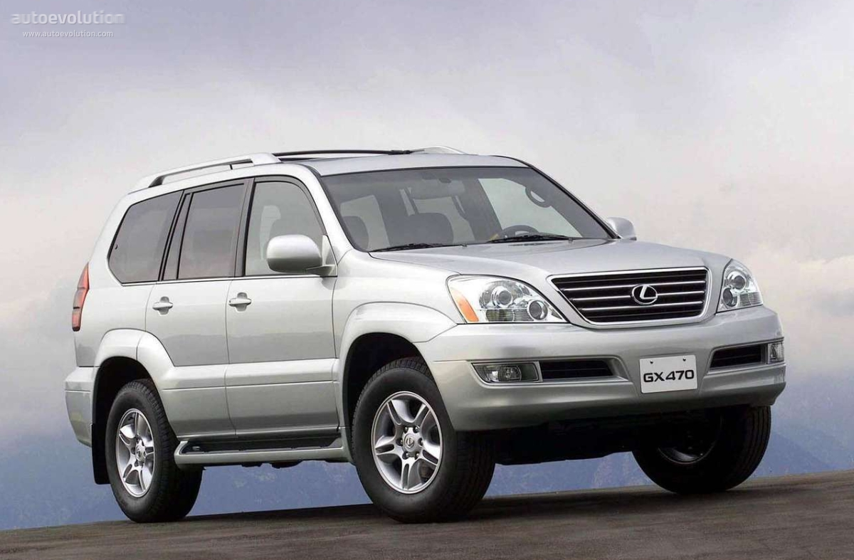 LEXUS GX specs & photos - 2003, 2004, 2005, 2006, 2007 ...