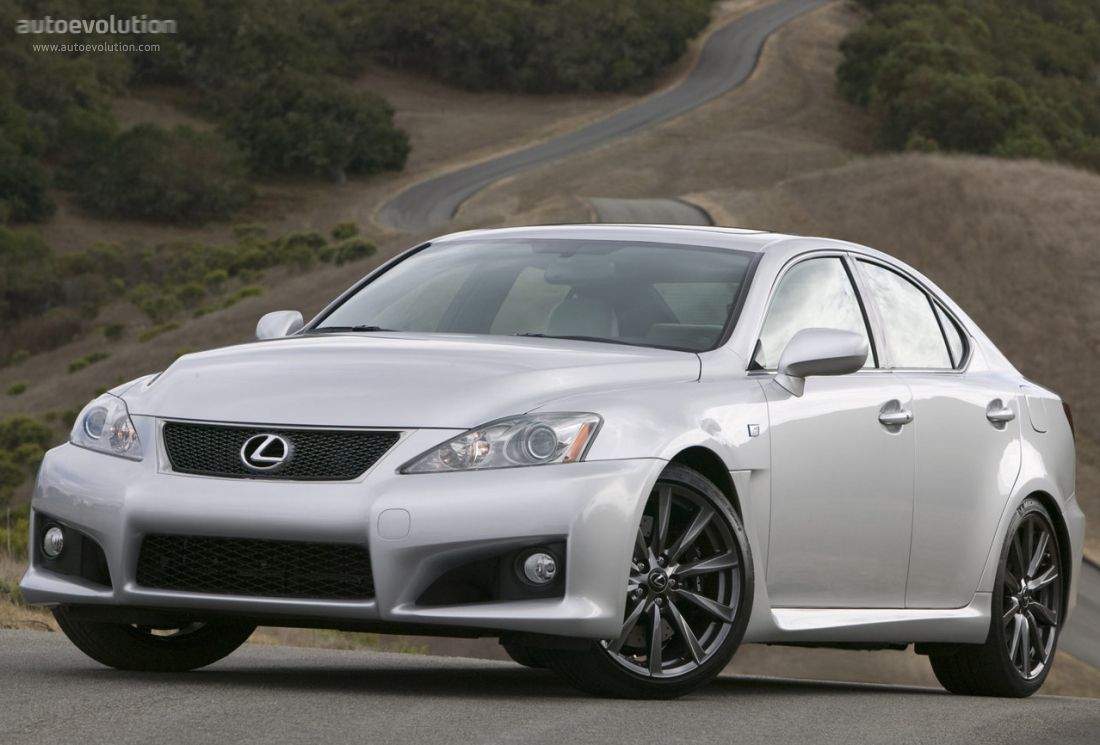 lexus is f specs 2008 2009 2010 2011 2012 autoevolution. Black Bedroom Furniture Sets. Home Design Ideas