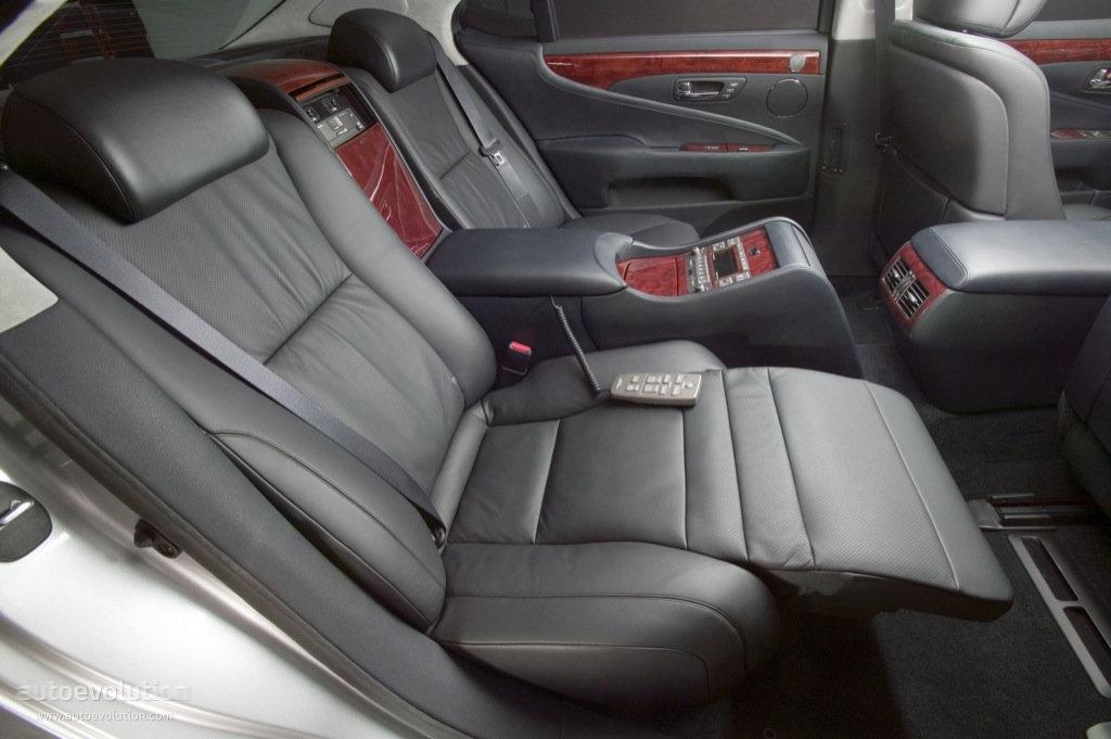 lexus ls 2006 2008 seats reclining 2009 600h seat rear cars relaxation 460 2007 interior ls460 system list autoevolution hybrid