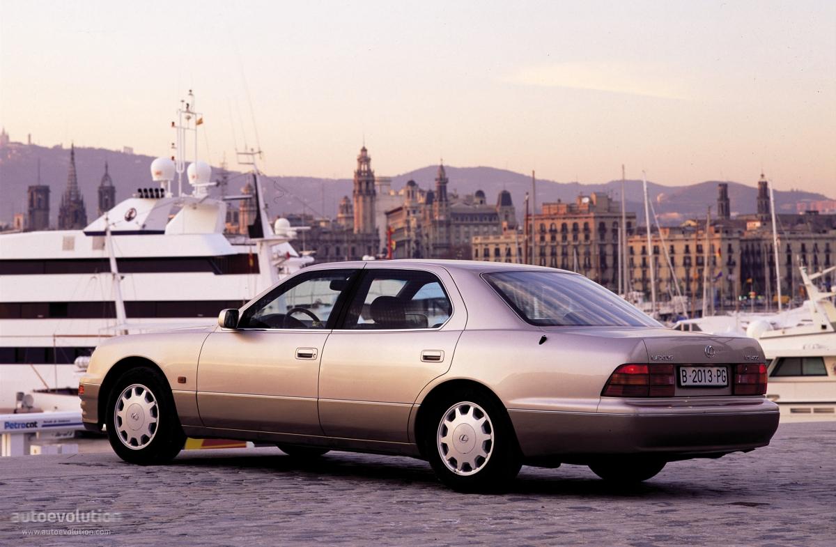 LEXUS LS specs - 1995, 1996, 1997 - autoevolution