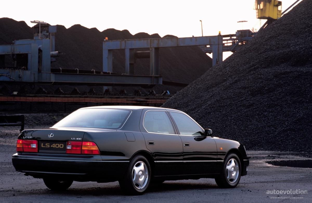 1998 lexus ls400 specs