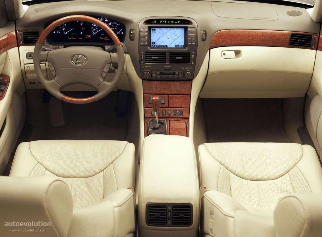 lexus ls430 2004 ls 2003 interior 2006 autoevolution cars