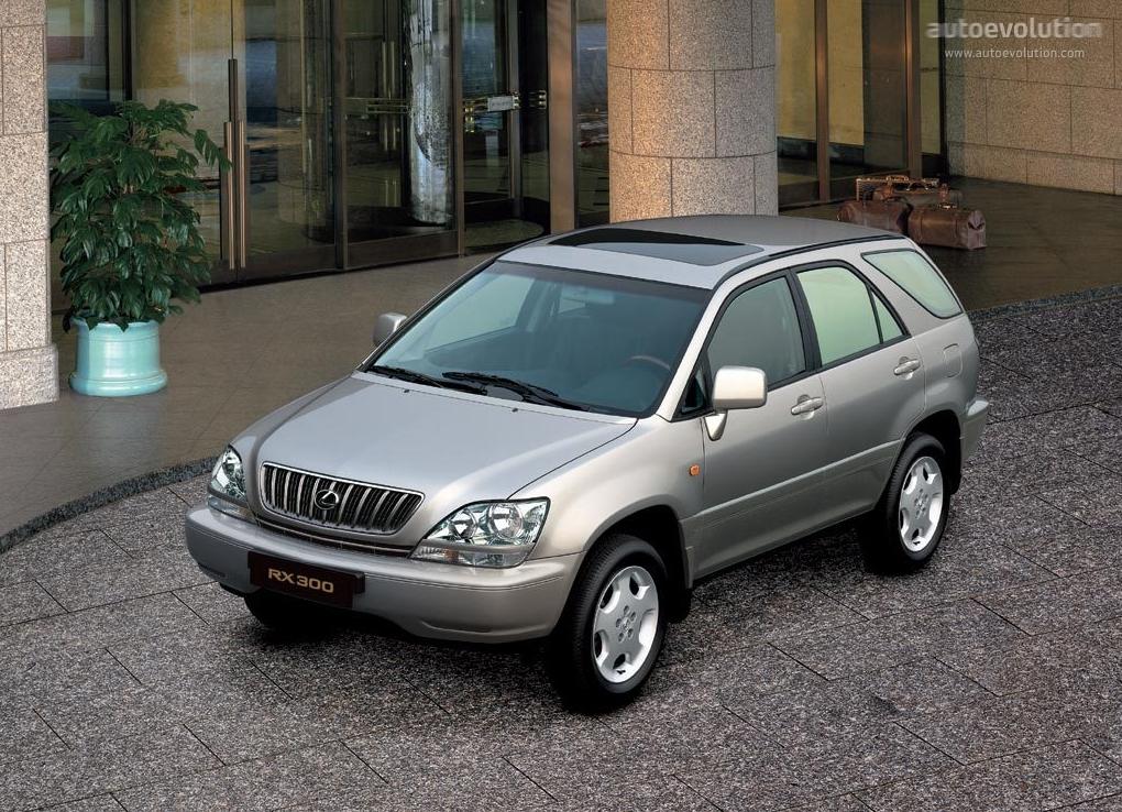 Lexus Rx 1998 1999 2000 2001 2002 2003 Autoevolution