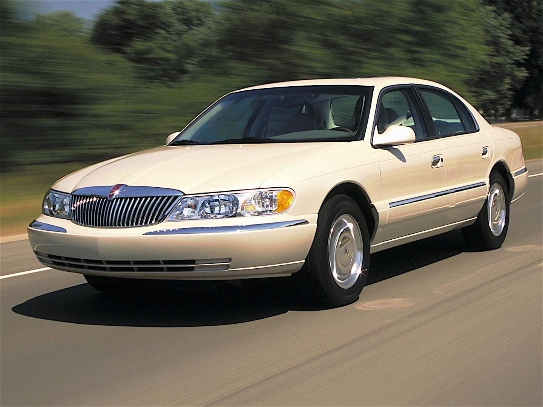 Lincoln Continental 1995 1996 1997 1998 1999 2000 2001 2002 Autoevolution
