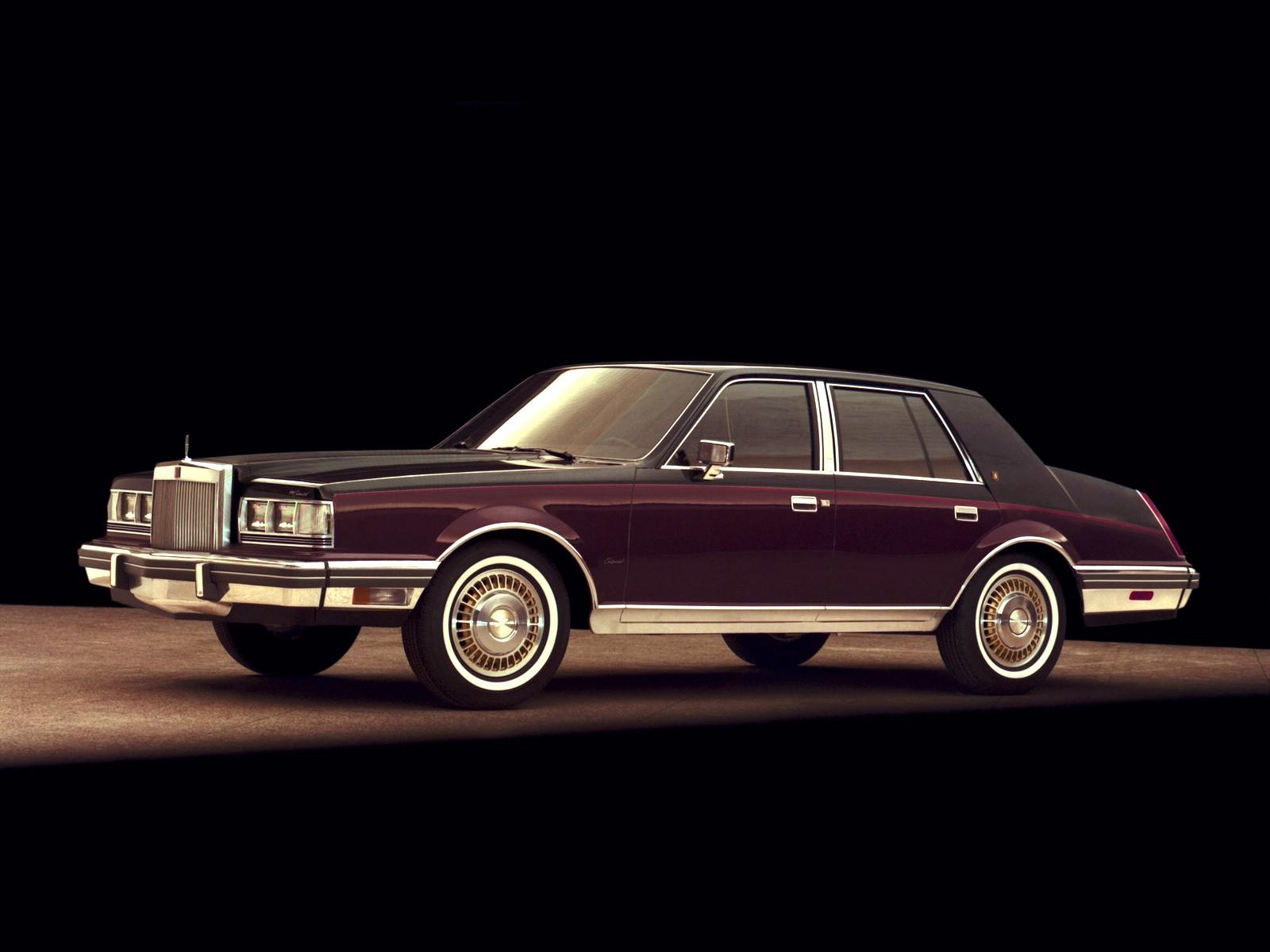 LINCOLN Continental specs & photos - 1982, 1983, 1984, 1985, 1986, 1987, 1988, 1989, 1990, 1991 ...