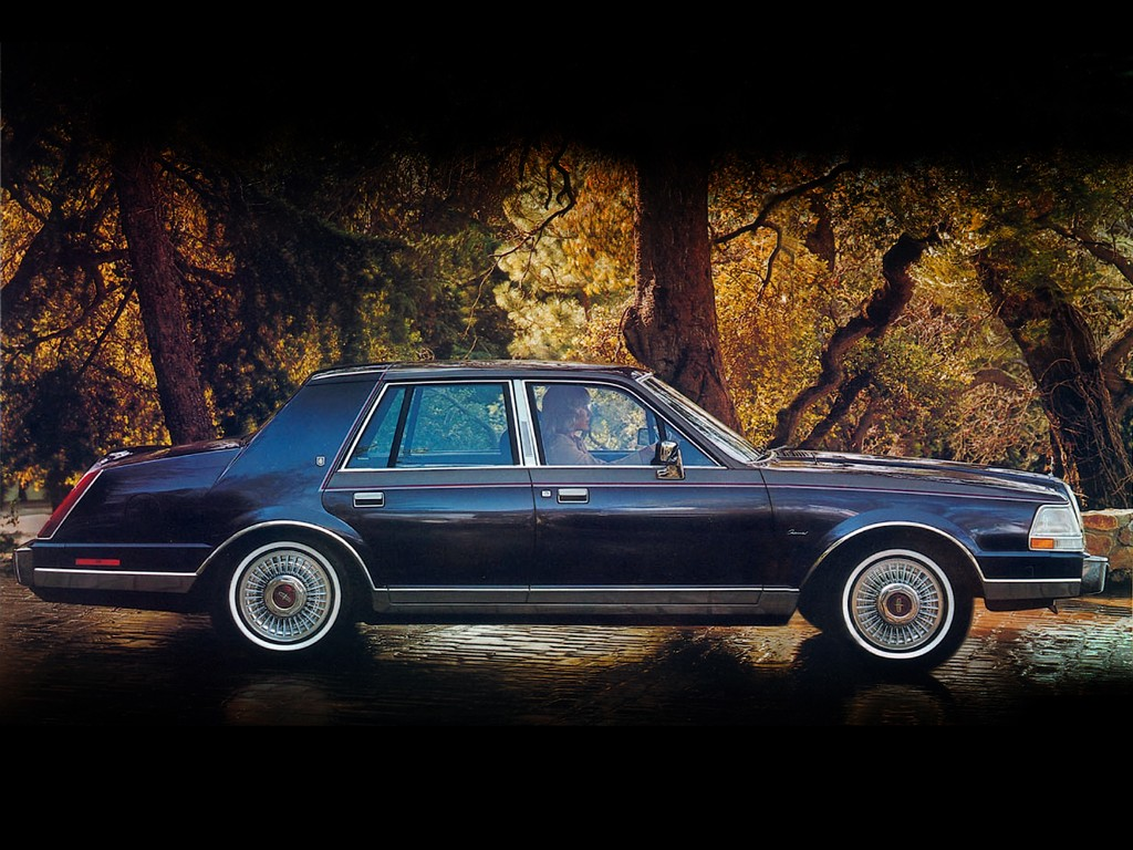 LINCOLN Continental specs & photos - 1982, 1983, 1984 ...